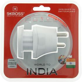 SKROSS Combo Adaptateur Monde vers Inde